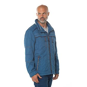 Jaqueta repelente de água de Andre em azul
