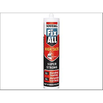 Soudal Fix All High Tack White 290ml 101440