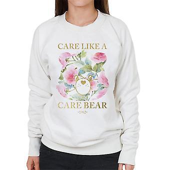 Care Bears Care Like A Care Bear Women's Sweatshirt