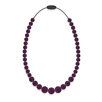 Silicon Rubber Bead Necklace
