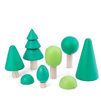 Diy Rakennuspalikat Montessori Koulutus Lelu Joulu syntymäpäivä