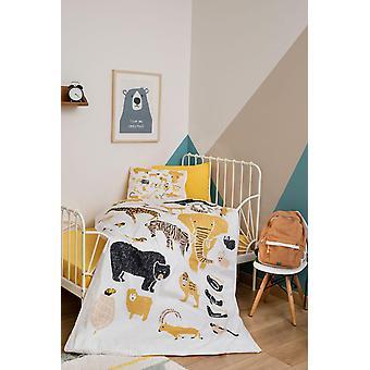 Cute Cartoon Printed, Cotton Baby Bedding Set