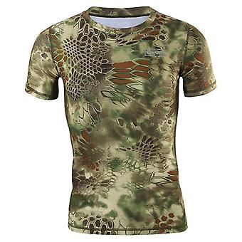 Jacht Top Outdoor Shirts Snel drogen Tactical Camo Tee Tops Leger Militaire