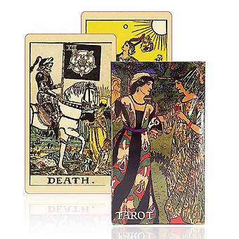 Ancient Tarot Deck 78 Cards - Beautiful Master Grade Design Tarot Cards Game