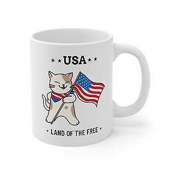 Usa-land Of The Free Mug