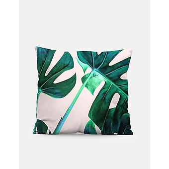 Green leafs  cushion/pillow