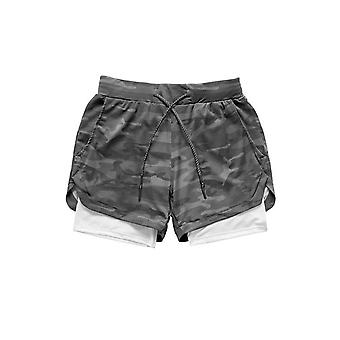Men's Casual Quick Drying With Built-in Pockets Sport Shorts
