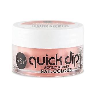 ASP Quick Dip Acrilico Immersione Polvere Nail Colour - I'm Peachy