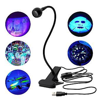 Led Ultraviolet Lights Desk Lamp Usb Mini Uv Gel Curing Light Nail Dryer