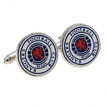 Rangers FC Crest Cufflinks - Gift Box - Official Licensed Product Football Club
