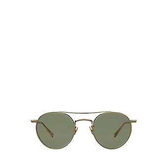 Garrett Leight RIMOWA X GLCO SUN gold unisex sunglasses