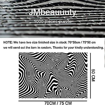 JMbeauuuty Jigsaw Puzzles 1000 Pieces for Adults Zebra Patterns Difficult Hard Puzzle
