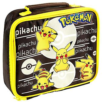 Pokemon Rectangular Pikachu Lunch Bag