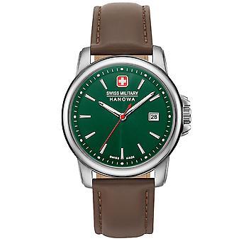 Reloj masculino militar suizo Hanowa 06-4230.7.04.006, cuarzo, 39 mm, 5ATM