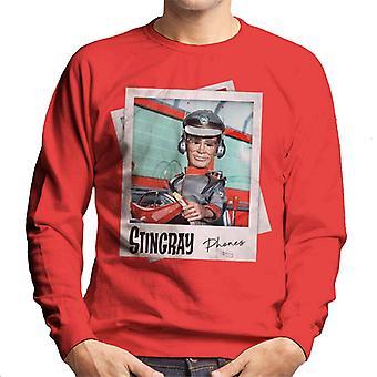Stingray George Phones Sheridan Driving Submarine Men's Sweatshirt