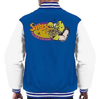 Shrek Eat Stink And Be Scary Men's Varsity Jacket
