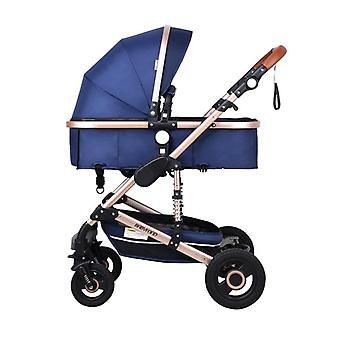 Stroller High Landscape Baby Stroller 3 In 1 With Car Seat