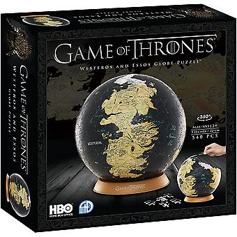 4D puzzle - game of thrones - 9 inch globe
