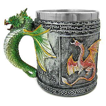Dragão gótico Tankard café Caneca Acrilica Medieval