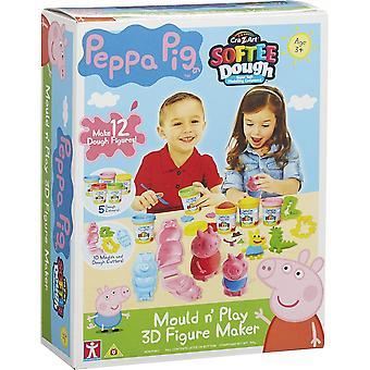 Пеппа Свинья плесень N Играть 3D Рисунок Maker