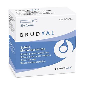 Brudyal 20 units of 0.4ml