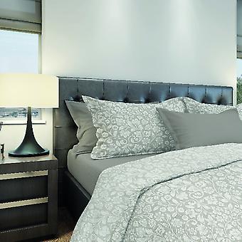 Kompletne łóżko Arabesque Color Beige, Cotton Grey, L150xP280 cm, L90xP195, L50xP80 cm