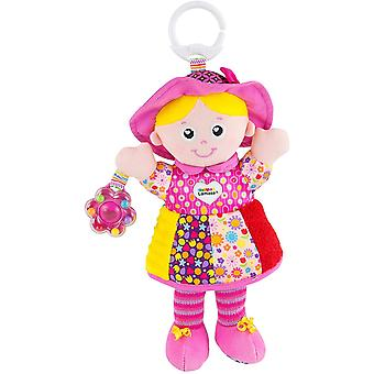LAMAZE My Friend Emily, Clip on Pram and Pushchair Newborn Baby Toy, Sensory Toy for Babies Boys