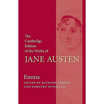Emma-tekijä Jane Austen - Richard Cronin - Dorothy McMillan - 97811076204