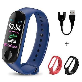 M3 Plus Smart Band Bluetooth Katsella Fitness Tracker Rannekoru Terveys Sleep Blood