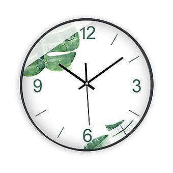 Silent modern wall clock for living room home office 10 inches smdz-23