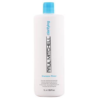 Paul Mitchell clarification shampooing trois 1000 ml