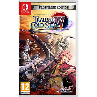 The Legend of Heroes Trails of Cold Steel IV Frontline Edition Nintendo Switch Game