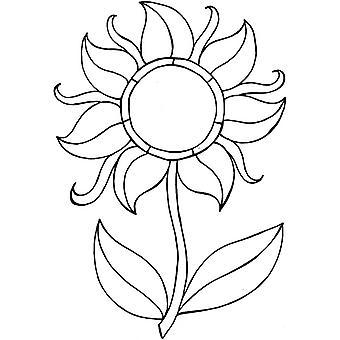 Lindsay Mason Designs Zendoodles Flower Clear Stamp