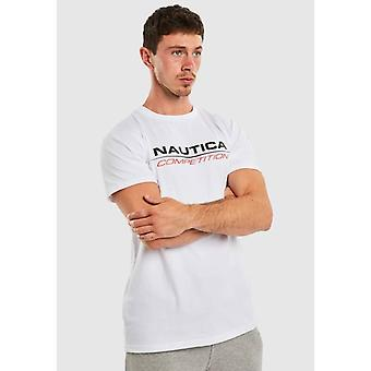 Nautica Konkurrence Vang T-shirt - Hvid