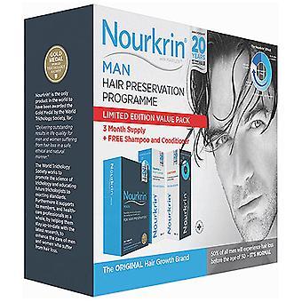 Nourkrin, Nourkrin Man, 60 Tablets