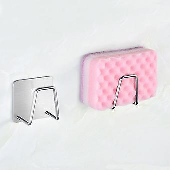 Porta spugna adesivo in acciaio lavandino Caddy per cucina