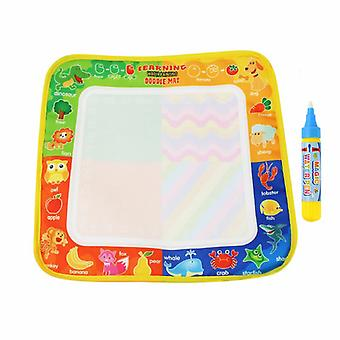 Magic doodle mat educational kids water drawing toys gift kt-23