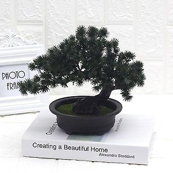 Artificial plant welcome pine ornaments plastic fake green plants