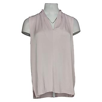 Vince Camuto Women's Top Sleeveless V-Neck Knit Tank Pink A306720