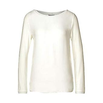 Street One A315367 T-Shirt, off White, 52 Woman