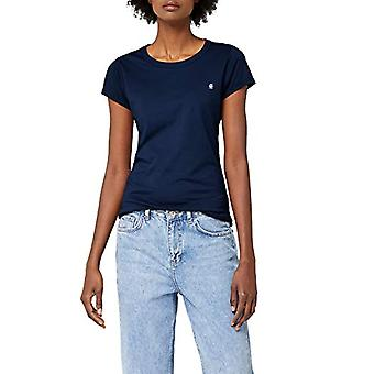 G-STAR RAW Eyben Slim T-Shirt, Blå (Sartho Blue 6067), 38 (Storlek Producent: Medium) Kvinna