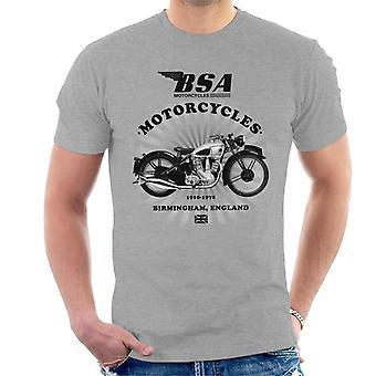 BSA Motorcycles 1910 Birmingham England Men's T-Shirt