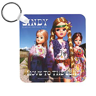 Sindy Festival Hits Move To The Beat Keyring