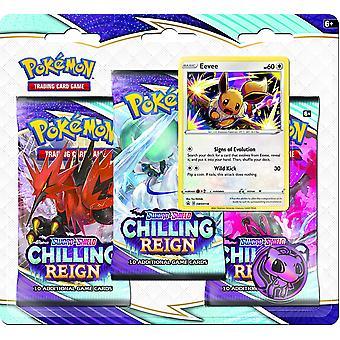Pokémon TCG Sword & Shield Chilling Reign 3-Pack (One at Random)