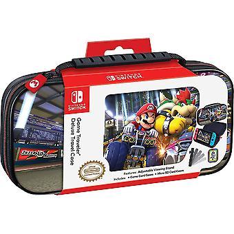 Mario Bowser Game Traveler Deluxe Travel Case per Nintendo Switch
