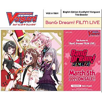 CardFight Vanguard TCG: BanG Dream! FILM LIVE Booster Box (12 Packs)