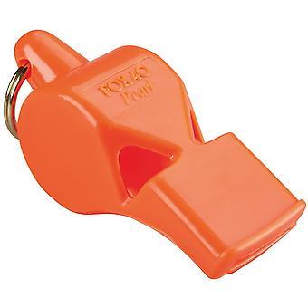 Fox 40 Pearl Safety Whistle C/W Wrist-Lanyard Orange