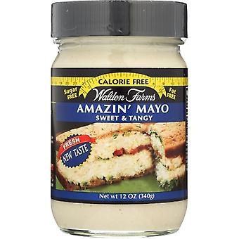 Walden Farms Mayo Cf Amazin Swt Tangy, Case of 6 X 12 Oz
