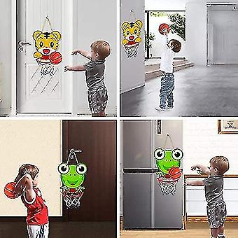 Roikkuva koripallo vannesarja lapsille, taapero seinäkiinnike Kannettava Taitettava Mini (GROUP1)