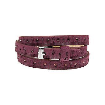 Il mezzometro strass leather bracelet  bmm1305_m